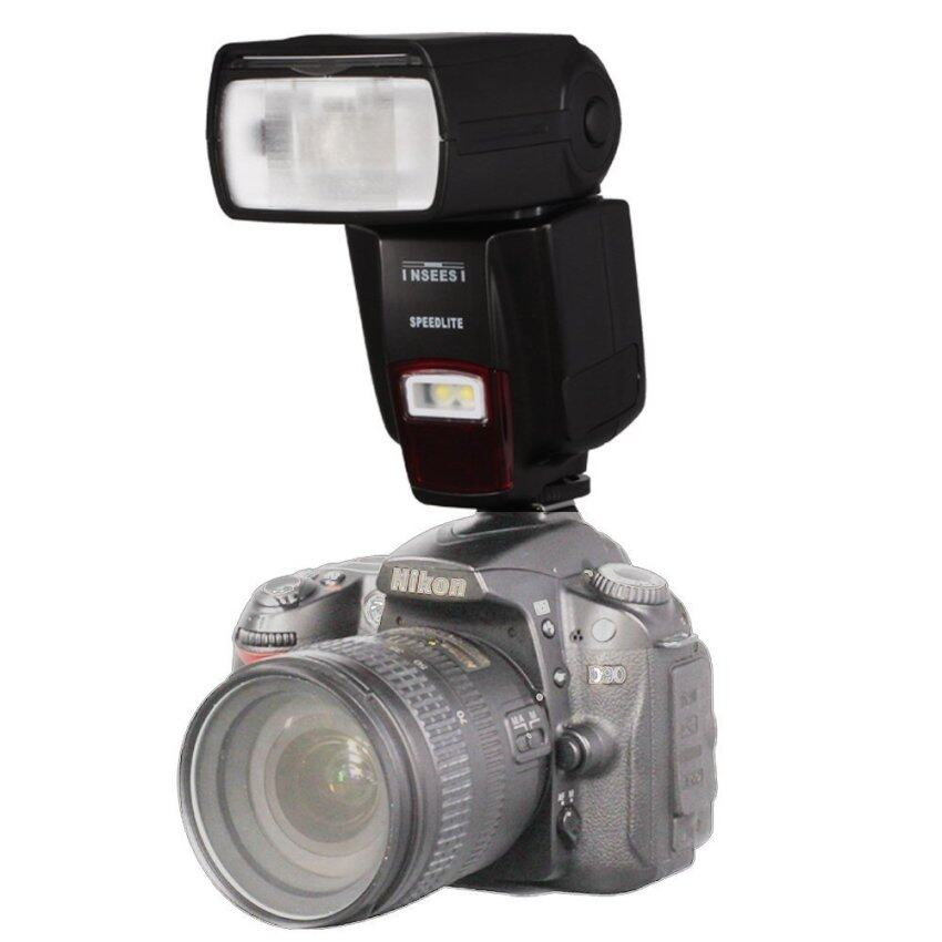 INSEESI IN560IV Wireless Universal Flash Speedlite GN50 With LED Light For Nikon D3100 D5100 D7000 D7100