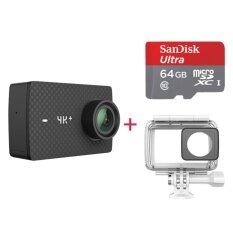 International Edition Xiaomi Yi 4k+ Sports Camera Kit W/ 64gb Tf Card - Intl ราคา 13,729 บาท(-24%)
