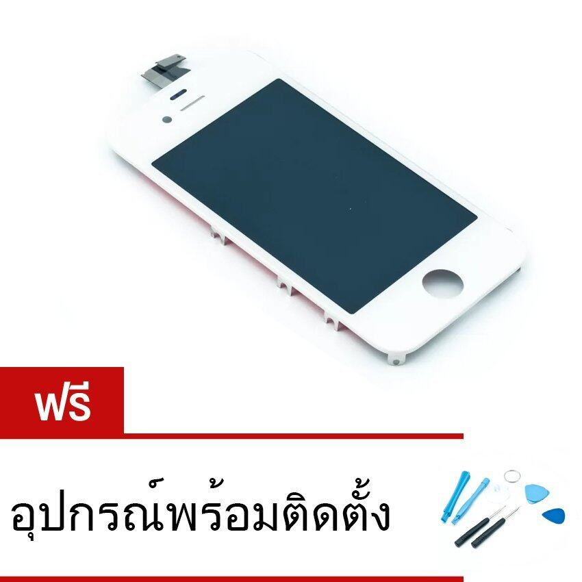 อะไหล่หน้าจอ iPhone 4 Touch screen ฟรีอุปกรณ์พร้อมติดตั้ง (สีขาว) ...