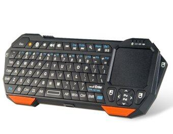 IS11 BT05 Mini Wireless Bluetooth Keyboard with Touchpad (Black)