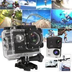 Ja Leng กล้องกันน้ำ ถ่ายใต้น้ำ พร้อมรีโมท Sport Camera Action Camera 4k Ultra Hd Waterproof Wifi Free Remote ราคา 986 บาท(-66%)
