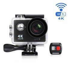 Jdm Action Camera 4k Wifi Ultra Hd Waterproof Sport Camera 2 Inch Lcd Screen 12mp 170 Degree Wide Angle 1 Rechargeable 1050mah Batteries Free Travel Bag Include 19 Accessories Kits - Intl ราคา 2,039 บาท(-40%)