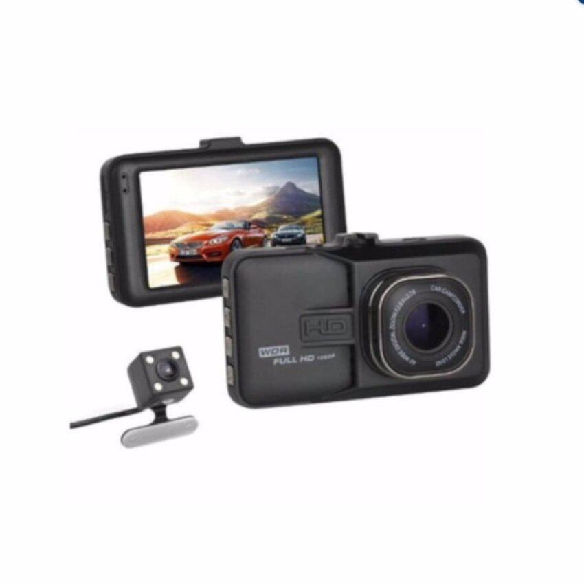 jenny2shopกล้องติดรถยนต์Q6Aกล้อง หน้า-หลัง(WDR) Full-HD 1080P ...