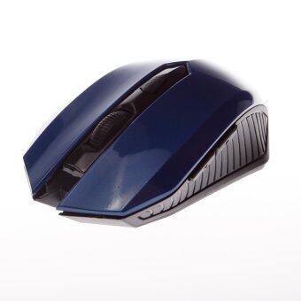 JT5001 Wireless Mouse Optical Mouse 2.4GHz 1600DPI 5 keys Design (Blue)