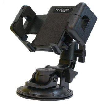 KAKUDOS แท่นวางโทรศัพท์มือถือในรถยนต์ Car Holder K-W3 - (Black)
