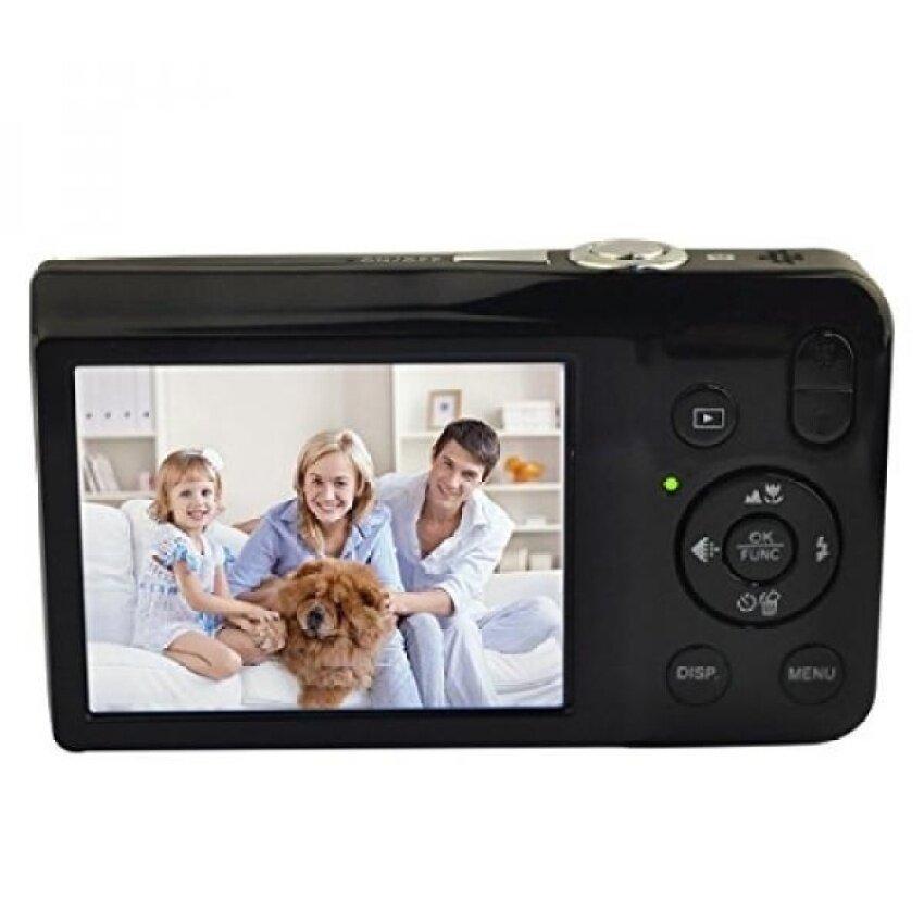 KINGEAR V100 2.7 Inch TFT Color LCD Screen 15MP 720P HD Anti-shakeSmile Capture Digital Video Camera With 5X Optical Zoom 4X DigitalZoom-Black - intl