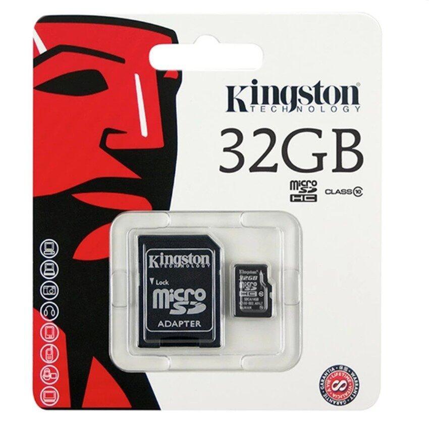 ด่วนKingston Memory Card Micro SD SDHC 32 GB Class 10 คิงส์ตันเมมโมรี่การ์ด 32 GB กำลังลดราคา