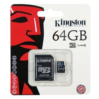 Kingston Memory Card Micro SD SDHC 64 GB Class 10 คิงส์ตัน เมมโมรี่การ์ด 64 GB