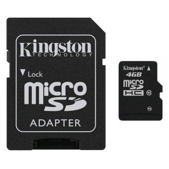 Kingston Memory Micro SD Card Class 10 - 4GB with Adapter