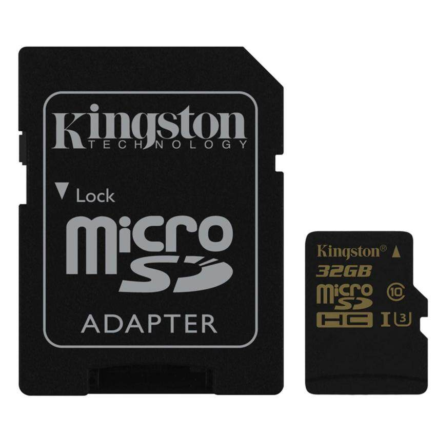 Kingston Micro SD Card Action Camera (4K) 32GB (SDCG/32GB)