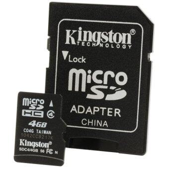 Kingston Micro SD Class 4 High Speed 4GB