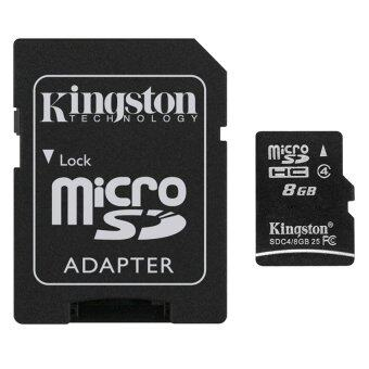 Kingston เมมโมรี่การ์ด Micro SDHC 8 GB Class 4