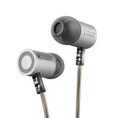 KZ ED4 หูฟังเสียงใส เบสหนัก สายถัก LC-OFC 56 Core (Silver) image