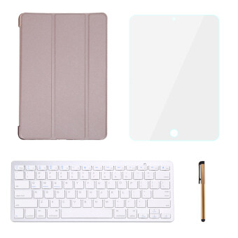 "Leather Case Smart Cover With Bluetooth Keyboard For iPad Pro 9.7"" - intl"