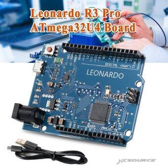 Leonardo R3 โปรเล็ก ATmega32U4 บอร์ด Arduino เข้ากันได้ IDE ด้วยสายยูเอสบี