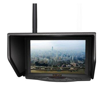 """LILLIPUT 329W 7"""" FPV monitor with single 5.8Ghz(4 bands & total 31 channels) wireless receiver for Aerial & Outdoor Photography."""