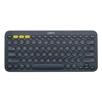 Logitech Multi-Device Bluetooth Keyboard รุ่น K380 (Black) (Win,Mac,Chrome,Android,iOsAppleTv)