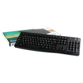 Logitech USB Keyboard (K120) Black