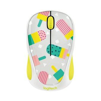 LOGITECH Wireless Mouse Party Collection รุ่น M238 (Popsicles)