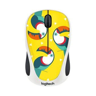 LOGITECH Wireless Mouse Party Collection รุ่น M238 (Toucan)