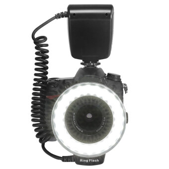 Macro LED Ring Flash Light for Canon Nikon Pentax Olympus Panasonic DSLR