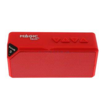 ราคา Magictech Speaker Bluetooth (X3s) Red