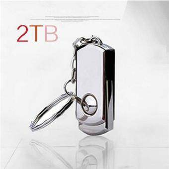 Metal Rotary Usb Flash Drive 64GB Plate Usb Flash Pen Drive Stick USB 2.0 U Disk - intl