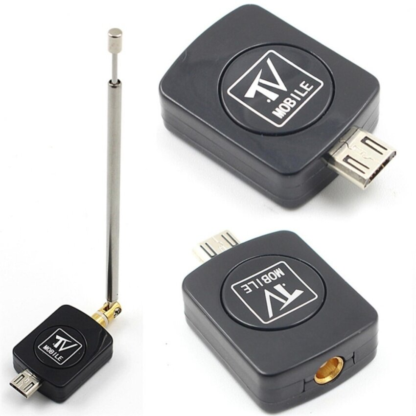Micro Fashion USB DVB-T HD TV Tuner Digital Satellite Dongle Receiver For Phone TV Tune - intl