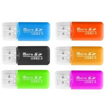 Micro SD Card Case Sets and Card Reader(Random color) - intl