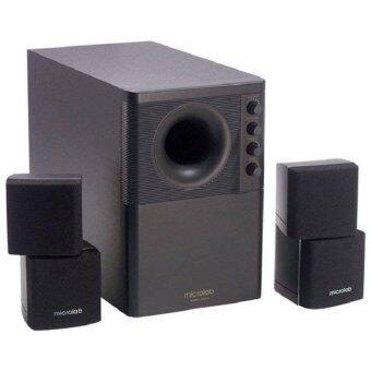 Microlab Speaker X2 (2.1 System) 46W RMS - Black