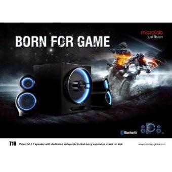 MICROLAB Stylish Bluetooth Speakers T10 (Black)(Black)