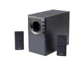 Microlab X3 2.1 - สีดำ