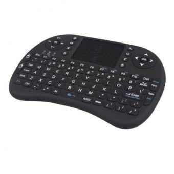 Mini 2.4G Wireless Keyboard Mouse Combo with Touchpad for PC Pad Google Android Black - Intl