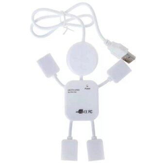 Mini PC humanoid usb hub 2.0 High Speed 4 port usb charger Sharing Switch