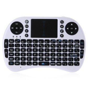 Mini Wireless Keyboard 2.4G Touchpad Handheld Keyboard for PC - Intl