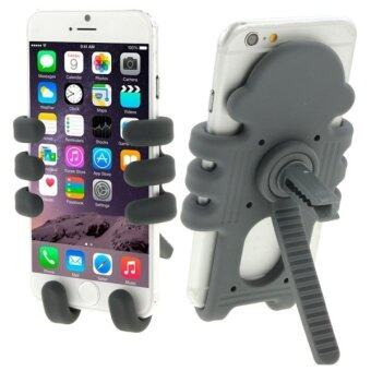 Monkey Style Air Vent Car Mount Silicone Variety Holder for iPhone 6 and 6 Plus / iPhone 5 and 5S(Grey) - INTL