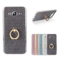 [sale] Mooncase Case For Samsung Galaxy E5 Glitter Bling Prints Flexible Soft Tpu Protective Case Cover With Ring Holder Kickstand Black - Intl ราคา 268 ...