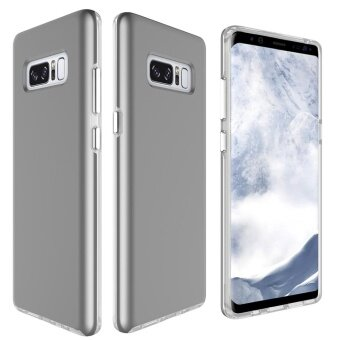 MOONCASE for Samsung Galaxy Note 8 case 2 in1 Anti Shock AirCushion Back Shell Soft Thin TPU Case Cover (As Shown) - intl