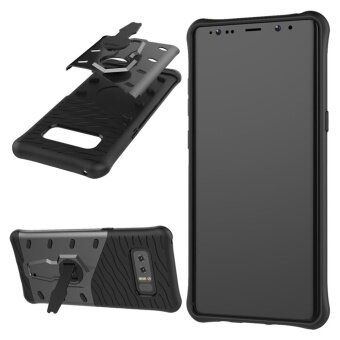 MOONCASE for Samsung Galaxy Note 8 case 360°Rotate Kickstand ShellHybrid Shock-Absorbing Dual Layer Durable Armor Case Cover (AsShown) - intl
