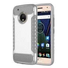 ขายถูก Moto G5 Plus Case,mooncase 2 In 1 Classic [anti-Slip] Hybrid With Soft Rugged Tpu Inner Skin And Hard Pc Anti Scratches Protective Cover For Motorola ...