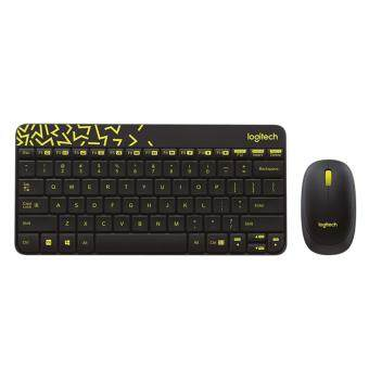 MOUSE LOGITECH WIRELESS COMBO MK240 BLACK