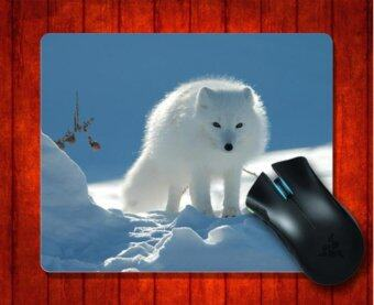 MousePad Arctic Fox52 Animal for Mouse mat 240*200*3mm Gaming Mice Pad - intl