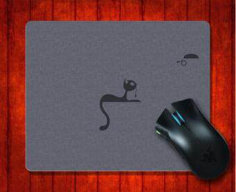 MousePad Cat And Mouse Usb Art for Mouse mat 240*200*3mm Gaming Mice Pad - intl