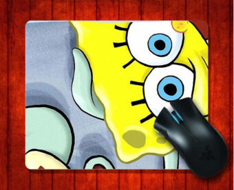 MousePad SpongeBob SquarePants Patrick Squidward for 240*200*3mm Mouse mat Gaming Mice Pad - intl