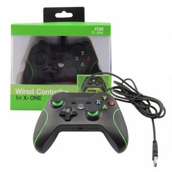 New USB Wired Console Game Handle Controller Remote Joystick GamePad For XBOX ONE PC Windows Gifts-Black - intl