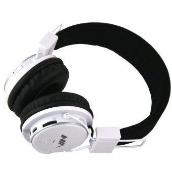 ซื้อ/ขาย NIA Q8-851S หูฟังครอบหู ไร้สาย Micro SD/FM Stereo Radio/MP3 Player Headphone Bluetooth Stereo ฟังเพลงและรับสายสนทนาได้ (สีขาว)