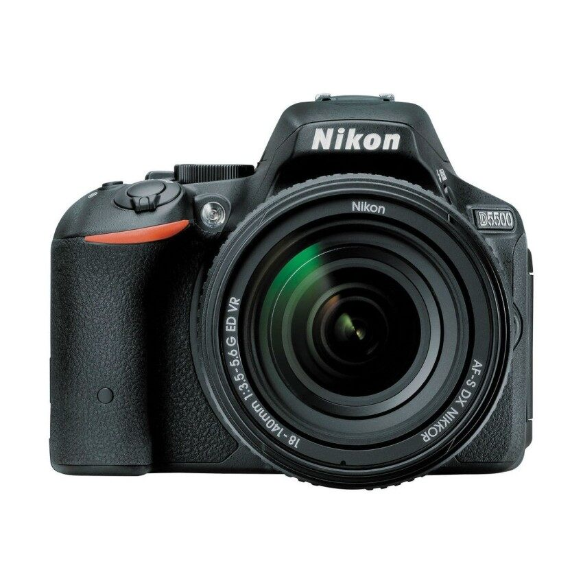 Nikon D5500 kit 18-140mm VR - Black