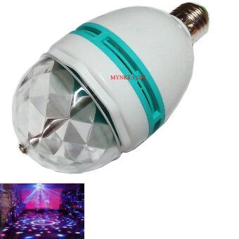 NKE AUDIO ไฟดิสโก้ ไฟหมุน LED 220V E27 FULL COLOR