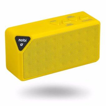 ราคา NOBI NB02/YE BLUETOOTH SPEAKER ลำโพงไร้สายบลูทูธ สี Yellow