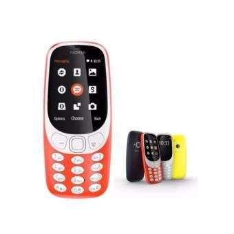 Nokia โนเกีย 3310 (2017)ปุ่มกด (3G) - จอใหญ่ 2.4 แป้นพิมพ์ไทย (เครื่องประกันศูนย์ไทยแท้ 100%)